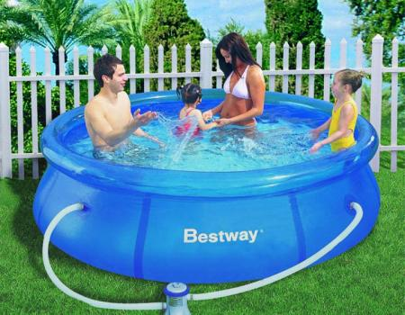 piscina bestway rotonda supersconti super sconti sport e tempo libero