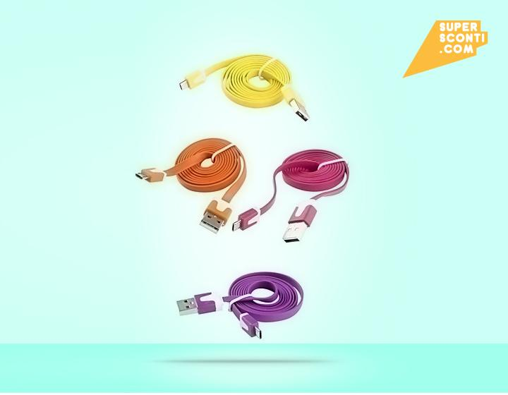 Cavo dati usb Samsung Galaxy S1 / S2 supersconti super sconti elettronica telefonia