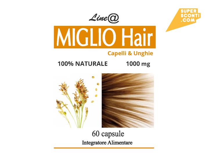 MIGLIO Hair food salute e bellezza cura corpo super sconti supersconti